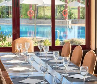 Restaurante hotel ilunion golf badajoz